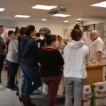 Les élèves en CAP Boulangerie-Pâtisserie de Saint-Joseph en visite